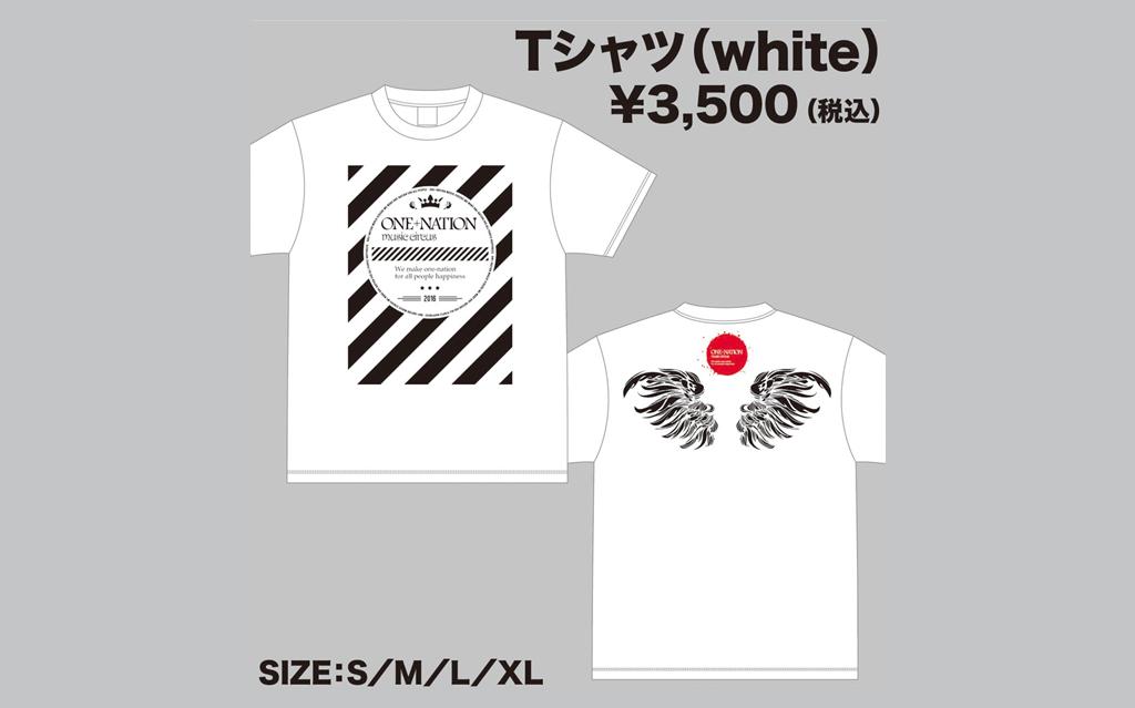 Tシャツ(white)