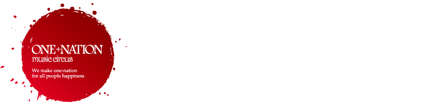 ONE+NATION music circus logo
